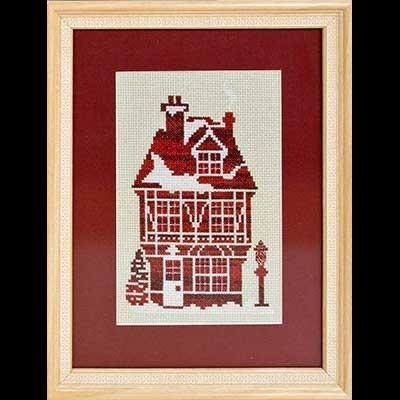 Имбирный дом схема вышивки 22
