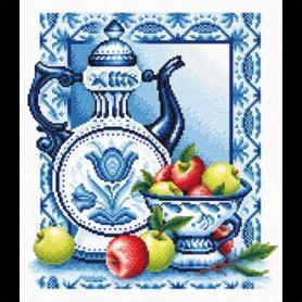 Алнушка вышивание наливное яблочко