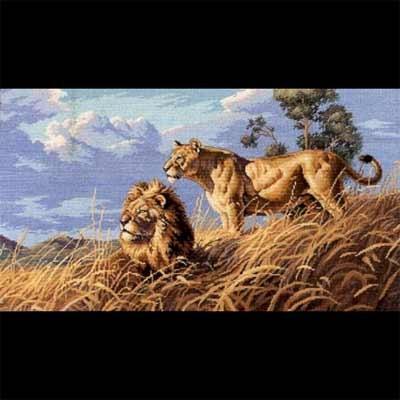 Dimensions 03866 африканские львы