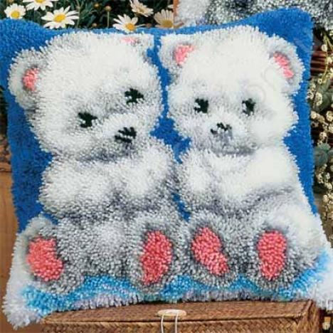 """Набор для вышивания Vervaco 3562 """"Белые медвежата"""""""