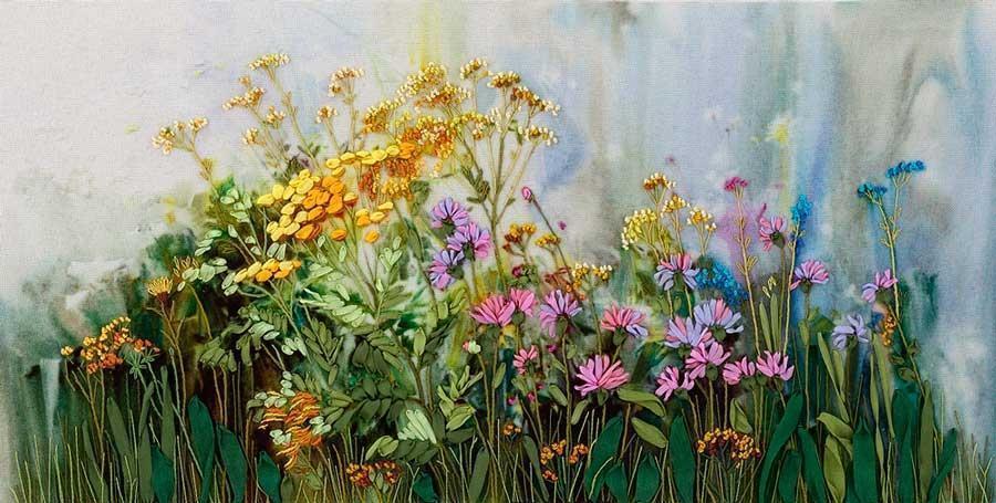 Картины из травы