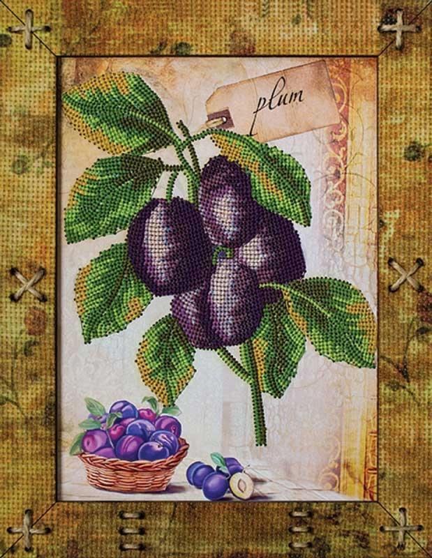Вышивка фрукты гладью 89